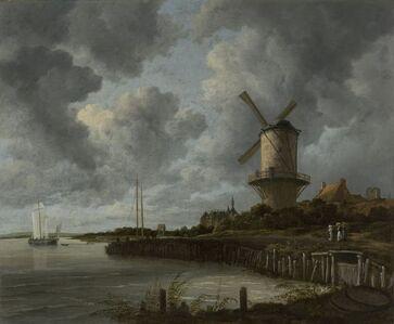Jacob van Ruisdael, 'The Windmill at Wijk bij Duurstede', ca. 1668 -c. 1670