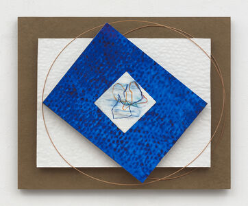 Dorothea Rockburne, 'Linear Alignment 1', 2020