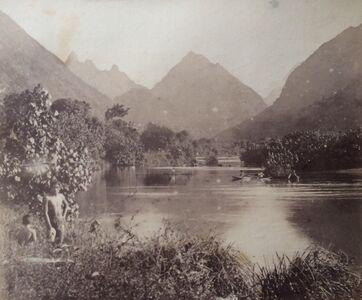 Charles Georges Spitz, 'Tahiti. Riviere de Tautira', 1888