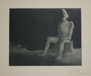 Alfred Kubin, 'Vergessen-Versunken', 1903