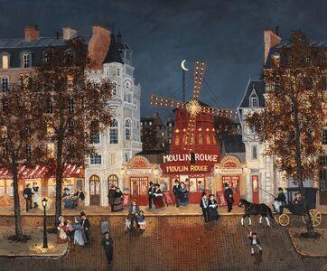 Fabienne Delacroix, 'Au Moulin Rouge'