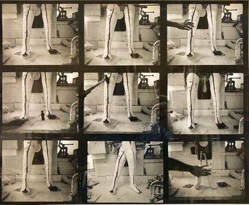 Shimon Attie, 'Vintage Silver Gelatin Photograph Surrealist Fake Limb Prosthetic Factory Photo', 1980-1989