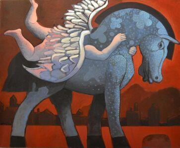 Nazir Tanbouli, 'Red Dawn', 2020