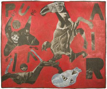 """Vincent Corpet, '3640 (After """"La liberté guidant le peuple"""" by Delacroix)', 2011"""