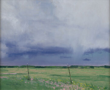 Ben Bauer, 'Cut Hay and Thunder', 2020