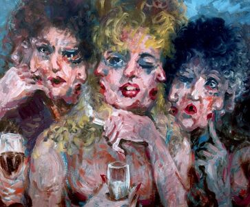 Victor Victori, 'Three Drunk Women', 1998