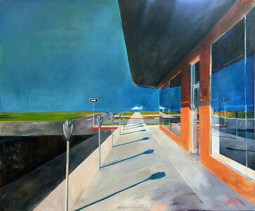 Randall Exon, 'Crosswalk', 1977