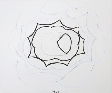 Jürgen Partenheimer, 'Inside the clouds, #12', 2016