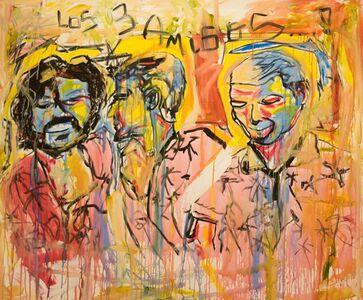 Domingo Zapata, 'Los Tres Amigos', 2018