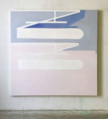 PAUL PAGK: PINK, YELLOW, BLUE, installation view