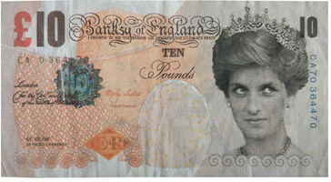 Banksy, 'Di-Faced Tenner Note (Ten Pounds)', 2004