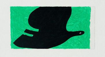 Georges Braque, 'Oiseaux IX', 1962