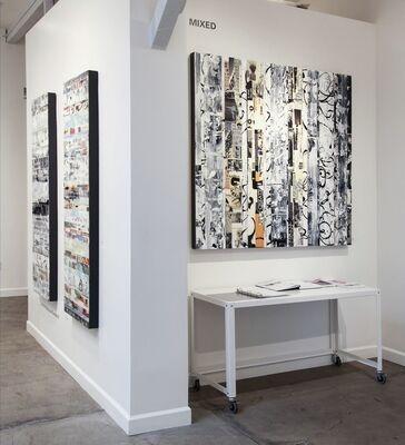 MIXED, installation view