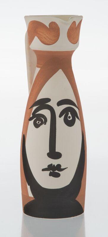 Pablo Picasso, 'Visage', 1955, Design/Decorative Art, Terre de faïence pitcher, partially glazed and painted, Heritage Auctions