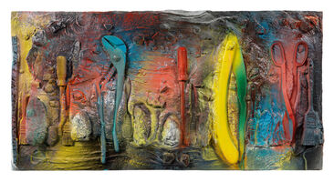Jim Dine, 'Twelve Colorful Tools (For Gene Summers)', 2017