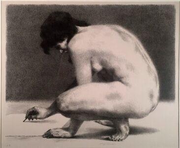 Joseph Hirsch, 'NUDE DRAWING', 1963