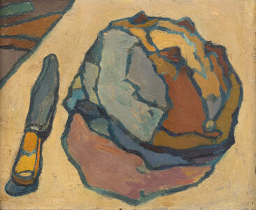 Cyril Mann, 'Knife and Bread', 1955