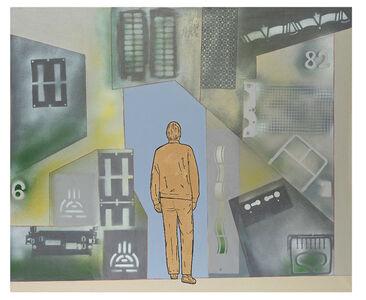 Renato Mambor, 'Passare attraverso', 2010
