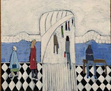 David Fawcett, 'Tube platform ', Contemporary