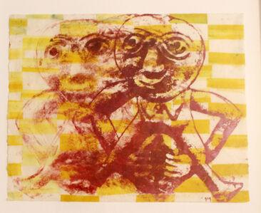 Nancy Spero, 'Sheela dancing', 1996