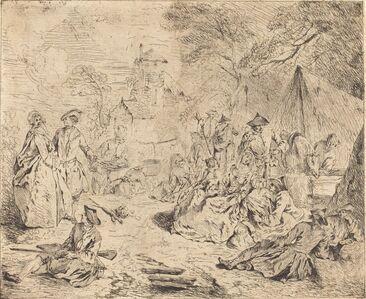 Jean-Baptiste Joseph Pater, 'Halt on the March'