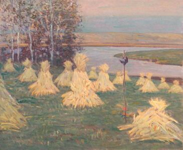 Theodore Wendel, 'Corn Sheaves on Castle Hill', 1905-1913