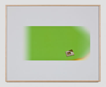 Larry Johnson, 'Untitled Green Screen Memory (Los Angeles Times)', 2010