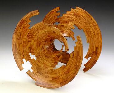 Bud Latven, 'Tulipwood Torsion', 2002