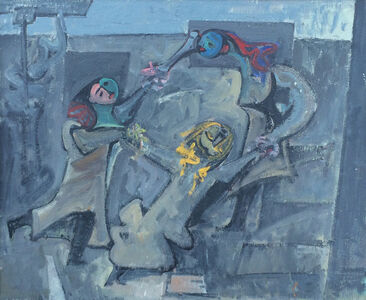 Hans Burkhardt, 'Fasnacht', 1964