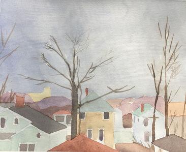 Sara MacCulloch, 'Fall Rooftops', 2017