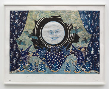 Marcel Dzama, 'I'll make the moon come up three hours late.', 2019