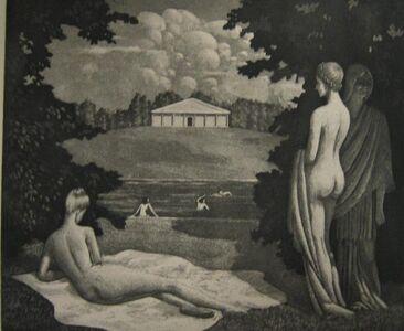 Kyra Markham, 'Summer Idyll', 1941