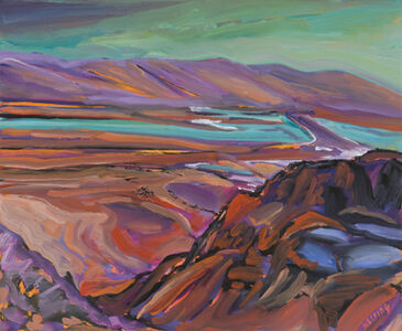 Jeffrey Hessing, 'Looking Down from Masada'