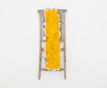 Hassan Sharif, 'Cadmium Yellow, No.2', 2014