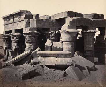 Francis Frith, 'Kom Ombo Temple, Egypt', 1858