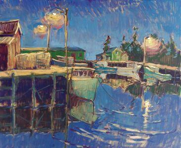 Tim McGuire, 'Harbor Evening', 2019