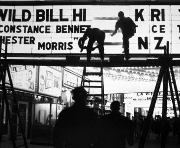 Ted Croner, 'Wild Bill Hickock', 1947-1948
