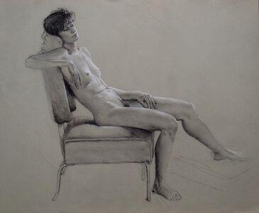 Don Maitz, 'Figure Asleep', 2000