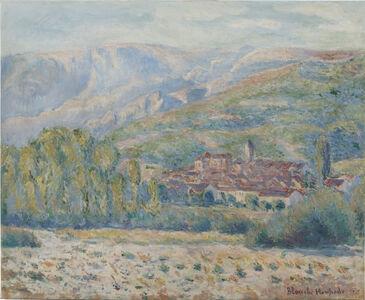 Blanche Hoschedé-Monet, 'Village de Poujal-sur-Orb, Hérault', 1865-1947
