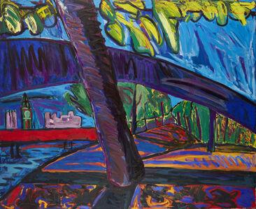 Lucy Jones, 'Tree Northbank', 1987