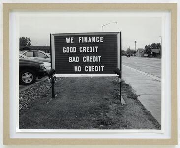 Taiyo Onorato & Nico Krebs, 'We finance', 2008