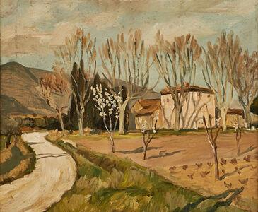 Marcel Dyf, 'Le Mont St. Victoire'