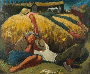 Ture Bengtz, 'Noon Nap', ca. 1948
