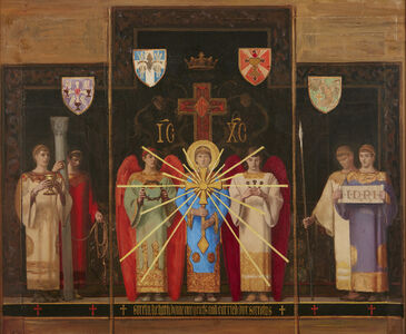 R. H. Ives Gammell, 'Study for Altarpiece', ca. 1940