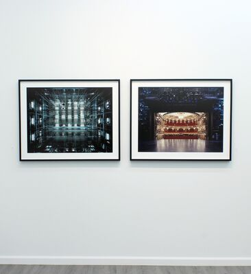 The Fourth Wall: Stages photographed by Klaus Frahm, installation view