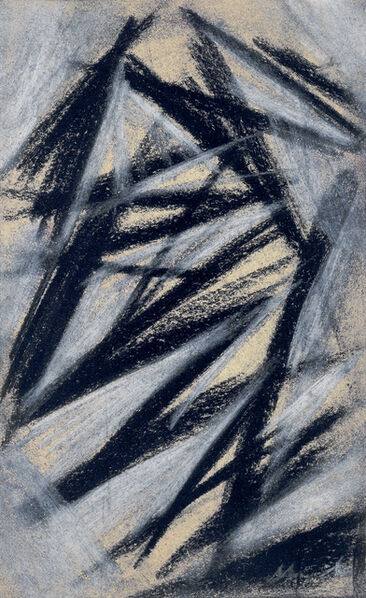 Mikhail Fedorovich Larionov, 'Rayonist composition', 1913-1914