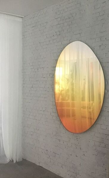 Sabine Marcelis, 'Off Round Hue Mirror #4 in Sunrise ', 2018