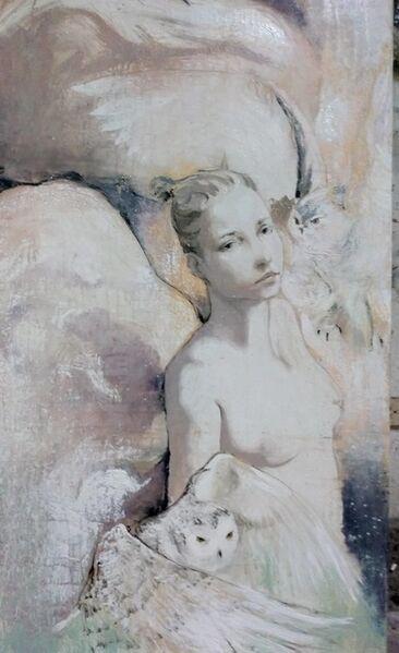 Jesus Nodarse, 'Women with Owls', 2018