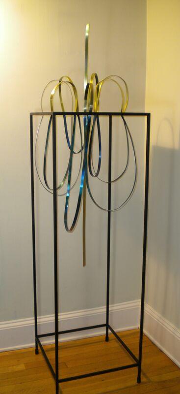 Pattie Porter Firestone, 'Above & Below: Flowering Energy', 2009, Sculpture, Painted Steel & Aluminum, Zenith Gallery