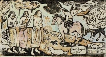 Paul Gauguin, 'Changement de Résidence', 1899
